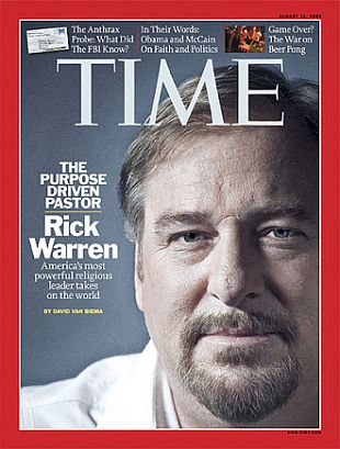 How writing a book made Rick Warren one of the most trusted pastors in the nation.