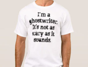 I'm a ghostwriter. This is what ghostwriters do for you.